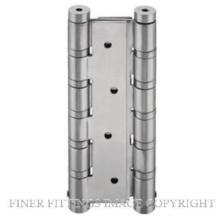 JNF IN05655 DBL ACTION SPRING HINGE 132x180x3MM SATIN STAINLESS
