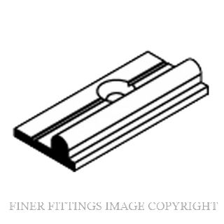 BRIO 913A ALUMINIUM BOTTOM RAIL
