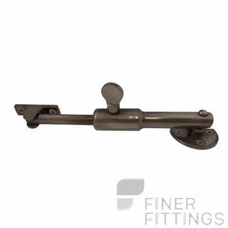 WINDSOR 5355 NB TELESCOPIC STAY - ROUND NATURAL BRONZE