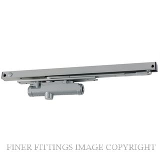 LCN 3133 HO SILVER RH CONCEALED DOOR CLOSER SILVER GREY