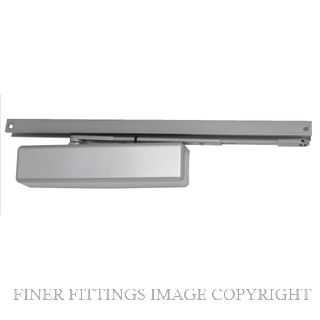 LCN 1460T SILVER TRACK ARM DOOR CLOSER SILVER GREY