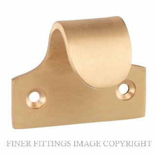 TRADCO 6662-6669 SASH LIFTS SATIN BRASS