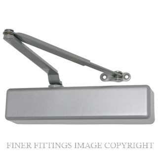 LCN 1461 SILVER STANDARD DOOR CLOSER SILVER GREY