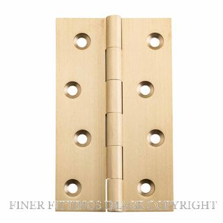 TRADCO 2822 - 2824 FIXED PIN HINGE SATIN BRASS