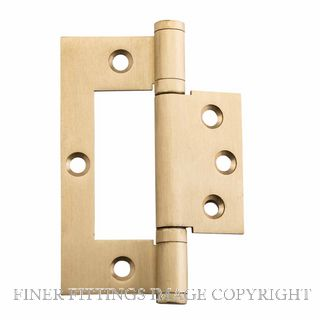 TRADCO 2847 HINGE HIRLINE BALL BEARING 100X49MM SATIN BRASS