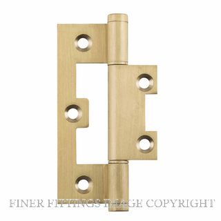 TRADCO 2848 HINGE HIRLINE BALL BEARING 89X35MM SATIN BRASS