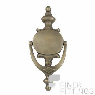 WINDSOR 3034 RB DOOR KNOCKER 210X95MM ROMAN BRASS
