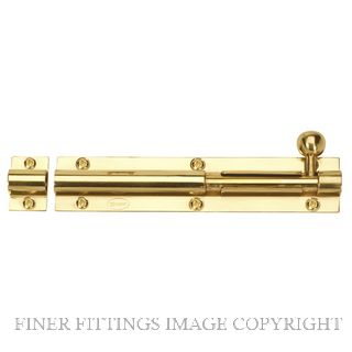 WINDSOR BRASS 5210 BARREL BOLT 150MM