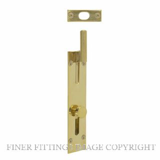 WINDSOR BRASS 5272 OUTWARD REVERSE NECK BOLT 125MM