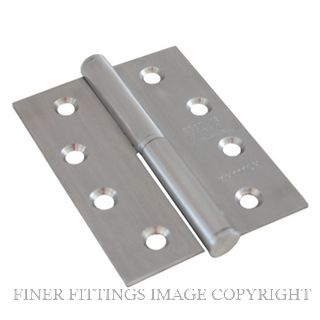 LEGGE 13211 01LH SS LIFT OFF HINGE 100X75MM SATIN STAINLESS