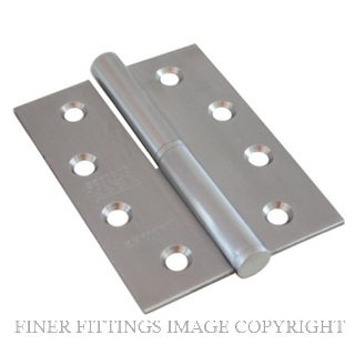 LEGGE 13211 01RH SS LIFT OFF HINGE 100X75MM SATIN STAINLESS