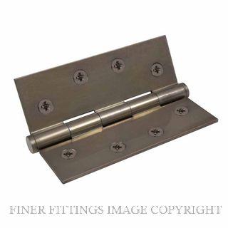 WINDSOR 5902 NB HINGE BRASS FIXED PIN BALL TIP 102X76 NATURAL BRONZE