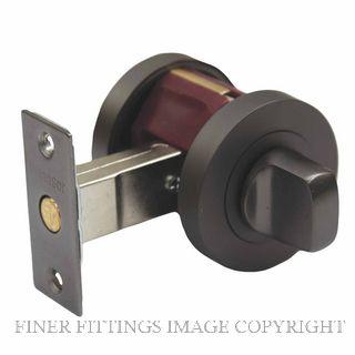WINDSOR 9034 GN PRIVACY TURN SET 60MM BOLT GRAPHITE NICKEL