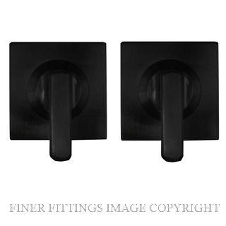 WINDSOR BRASS 9077 MINI TURN SET - 54X54MM SQUARE ROSE MATT BLACK