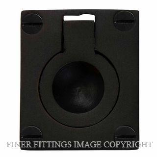 WINDSOR BRASS 5154-5177 FLUSH RINGS MATT BLACK