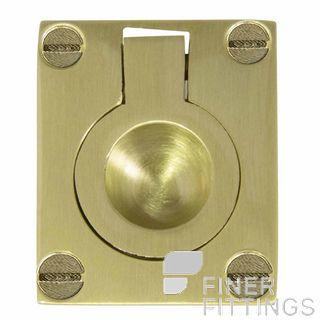 WINDSOR BRASS 5154-5177 FLUSH RINGS SATIN BRASS