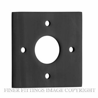 TRADCO 0242 ADAPTOR PLATE SQUARE - SUIT 54mm HOLE (SOLD AS A PAIR) ANTIQUE COPPER