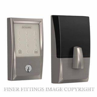 SCHLAGE SRE60121 BE489WB ENCODE SMARTLOCK SATIN NICKEL