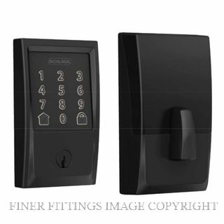 SCHLAGE SRE60120 BE489WB ENCODE SMARTLOCK MATT BLACK