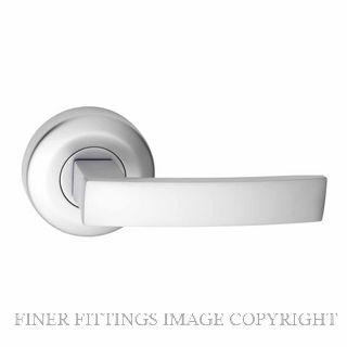 GAINSBOROUGH ANGULAR DOOR HANDLES 65MM SATIN CHROME