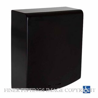 METLAM ML ECLIPSE DESIGNER ECLIPSE SLIMLINE AUTOMATIC HAND DRYER MATT BLACK