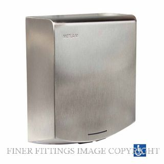 METLAM ML ECLIPSE05 SS ECLIPSE SLIMLINE AUTOMATIC HAND DRYER SATIN STAINLESS