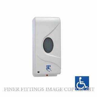 METLAM ML 950DA WHT AUTOMATIC HANDS FREE SOAP DISPENSER WHITE ABS