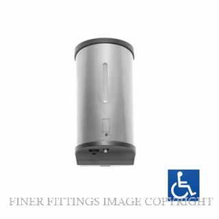METLAM ML 950SD SS AUTOMATIC HANDS FREE SOAP DISPENSER SATIN STAINLESS