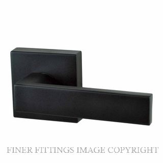 NIDUS LONSDALE SQUARE ROSE HANDLE SETS MATT BLACK