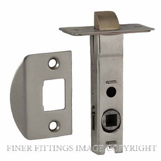 NIDUS LATTUBRSC 60MM-7.6MM SPINDLE TUBULAR LATCH SATIN CHROME