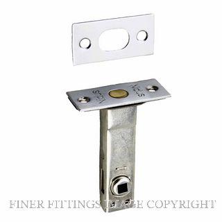 NIDUS PL60-6-CP PRIVACY BOLT 6MM CAM CHROME PLATE