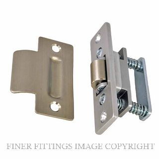 NIDUS RB1 SS V HEAVY DUTY ROLLER LATCH SATIN STAINLESS