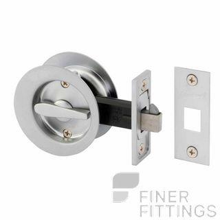 GAINSBOROUGH 395SCS CAVITY DOOR LOCK PRIVACY SATIN CHROME