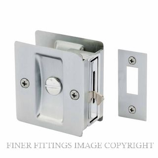 GAINSBOROUGH 393SCS CAVITY DOOR LOCK PRIVACY SATIN CHROME