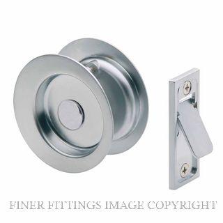 GAINSBOROUGH 396SCS CAVITY DOOR LOCK PASSAGE SATIN CHROME