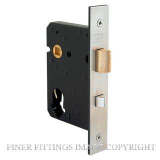 WINDSOR 1215 HEAVY DUTY NIGHT LATCH/LOCK STAINLESS STEEL 304