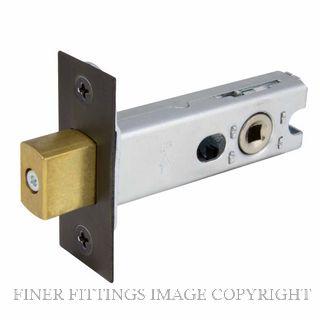 WINDSOR BRASS 1173 57MM HEAVY DUTY TUBULAR PRIVACY BOLT DARK ROMAN BRASS
