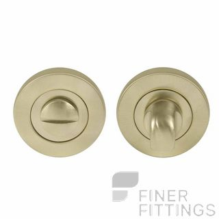 WINDSOR BRASS 8188 USB PRIVACY TURN & RELEASE - 50MM ROSE UNLACQUERED SATIN BRASS