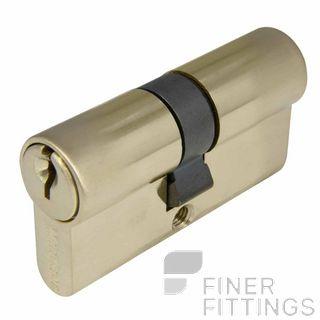 WINDSOR 1121 - 1224 USB EURO DOUBLE KEYED CYLINDERS UNLACQUERED SATIN BRASS