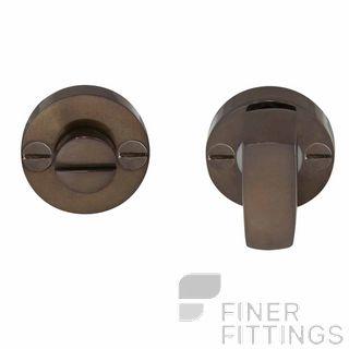WINDSOR BRASS 5192 PRIVACY TURN & RELEASE ANTIQUE BRONZE