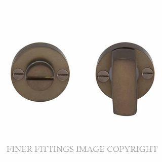 WINDSOR BRASS 5192 PRIVACY TURN & RELEASE MATT ANTIQUE BRONZE