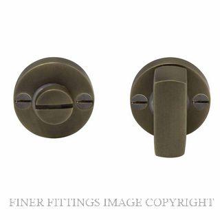 WINDSOR BRASS 5192 PRIVACY TURN & RELEASE ROMAN BRASS