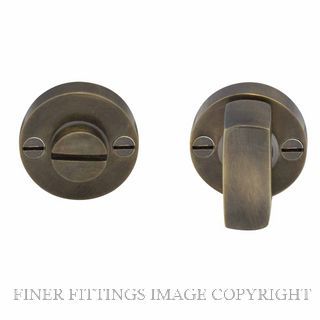 WINDSOR BRASS 5192 PRIVACY TURN & RELEASE OIL RUBBED BRONZE