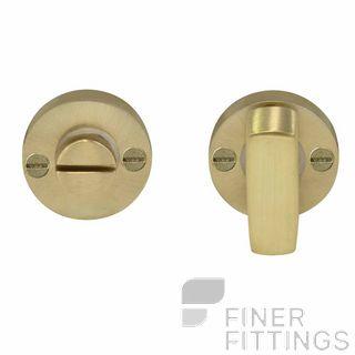 WINDSOR BRASS 5192 PRIVACY TURN & RELEASE SATIN BRASS