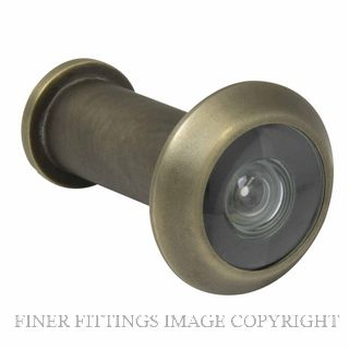 WINDSOR BRASS 5243 DOOR VIEWER - 180 DEGREE ROMAN BRASS