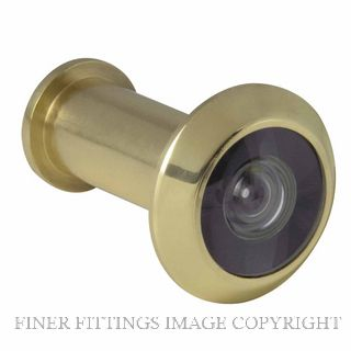 WINDSOR BRASS 5243 DOOR VIEWER - 180 DEGREE POLISHED BRASS