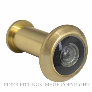 WINDSOR BRASS 5243 DOOR VIEWER - 180 DEGREE SATIN BRASS