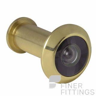 WINDSOR BRASS 5243 DOOR VIEWER - 180 DEGREE UNLACQUERED BRASS