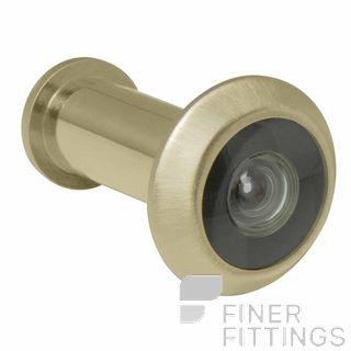 WINDSOR BRASS 5243 DOOR VIEWER - 180 DEGREE UNLACQUERED SATIN BRASS