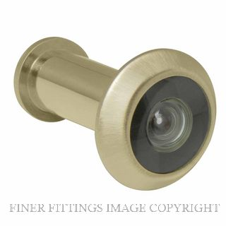 WINDSOR BRASS 5243 DOOR VIEWER - 180 DEGREE UNLACQUERED SATIN BRASS